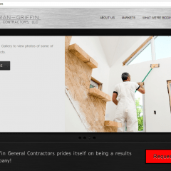 Bowman-Griffin General Contractors Website